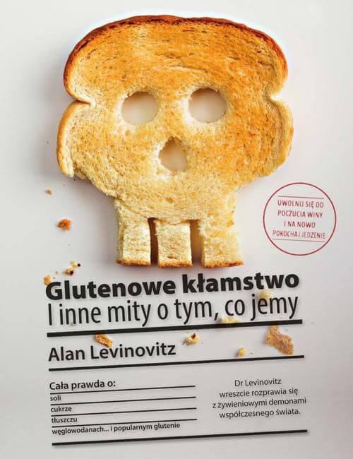 Glutenowe kłamstwo - okładka